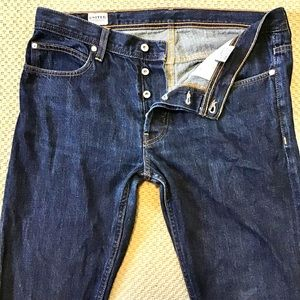 UNITED STOCK   Button Fly Selvage Denim 36x33